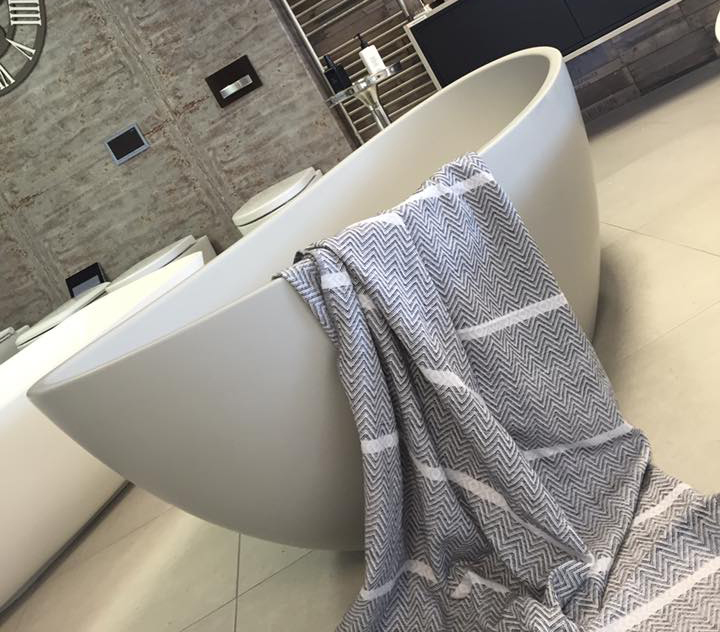 Grey Perlato Bath