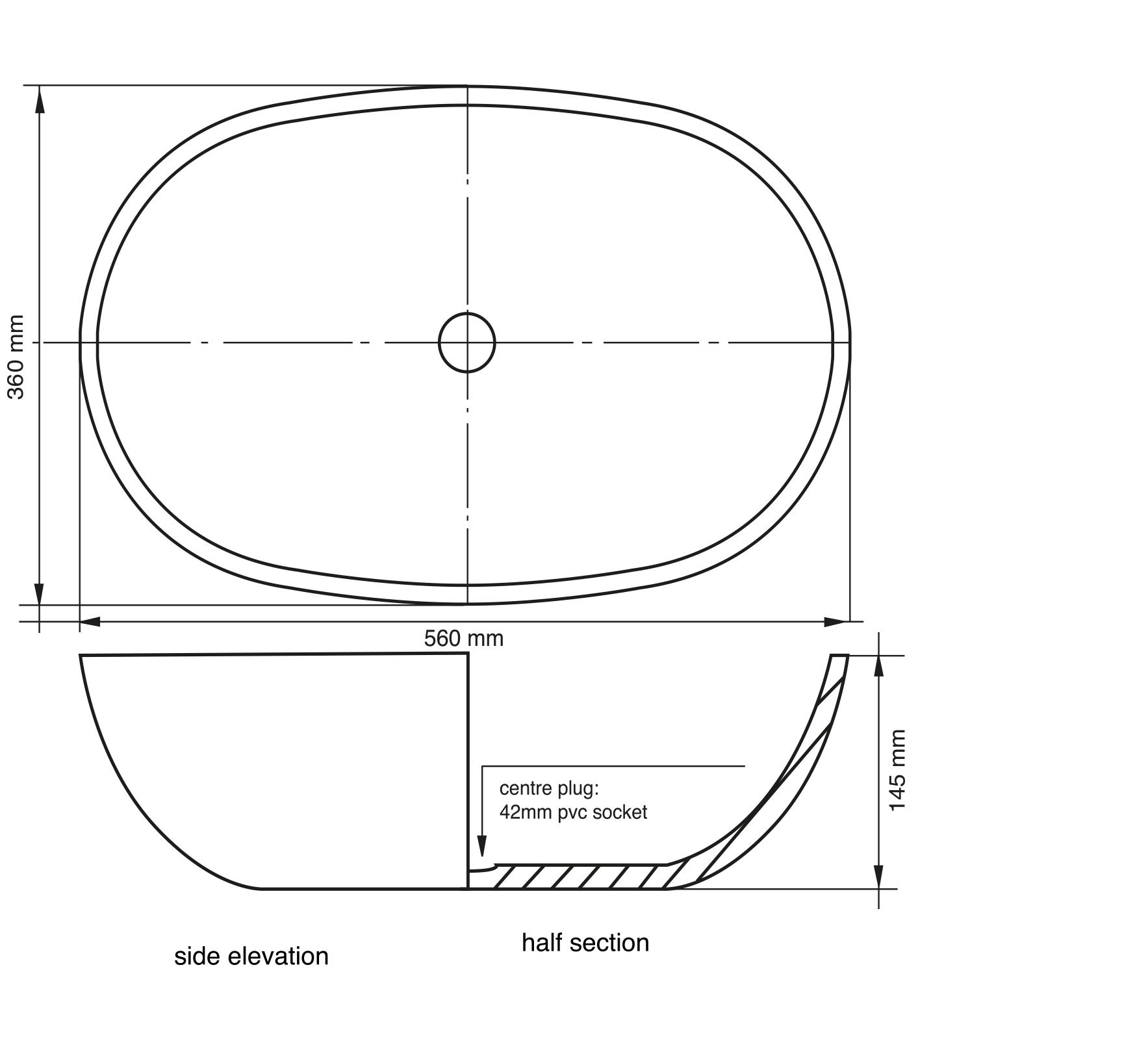 Piazza Basin Specs