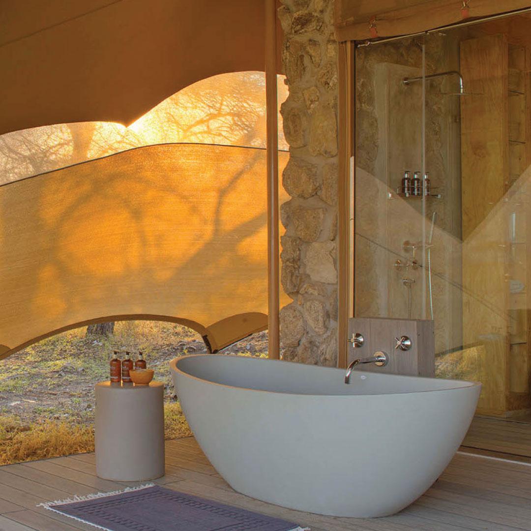 Perlato Freestanding Bath